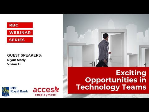 Exciting Opportunities in RBC Technology Teams