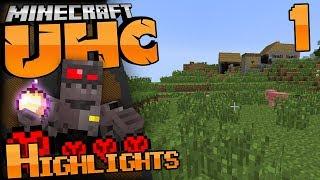 Minecraft UHC Highlights Episode 1: Surprise Drop