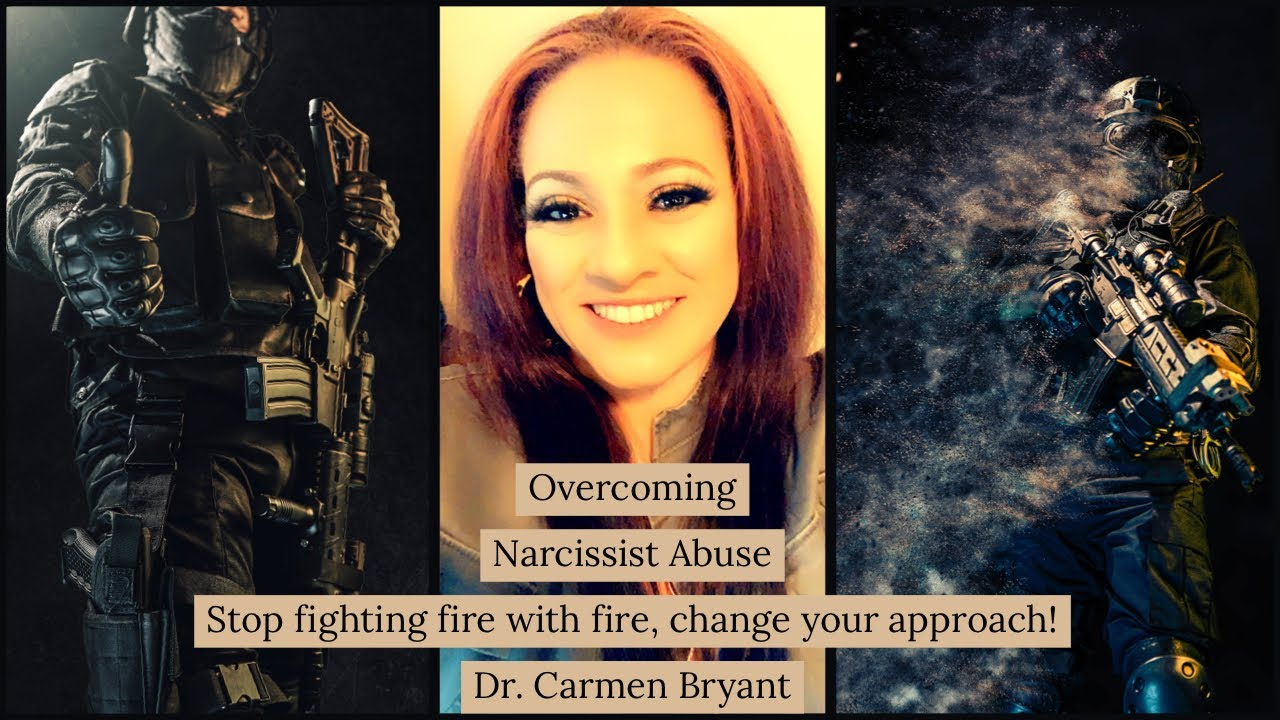 Narcissist abuse - stop fighting fire with fire, change your approach!