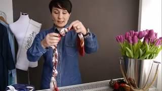 Halstücher stilvoll binden