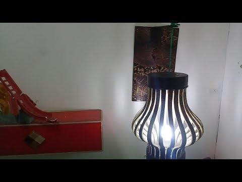cara membuat lampu hias dari paralon bekas