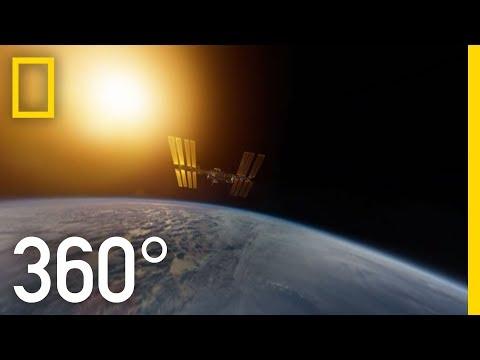 First-Ever 3D VR Filmed in Space | One Strange Rock