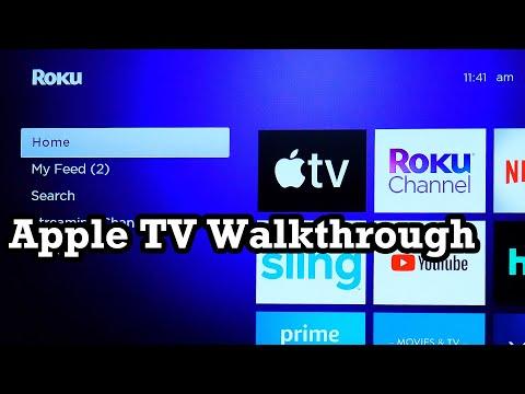 Apple TV on Roku Ultra 2019 Channel Walkthrough Showcase Demo Review