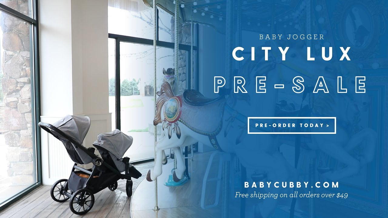 2017 Baby Jogger City Select Lux Pre Sale