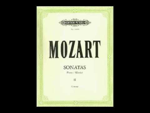 Piano Sonata No. 11 in A Major, K 331