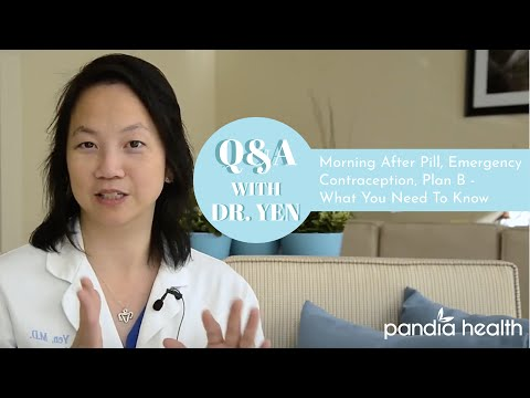 Pandia Health - Morning After Pill,  EC, Emergency Contraception, Plan B - What You Need To Know