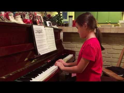 Ukrainian Bell Carol (piano) | Elizabeth