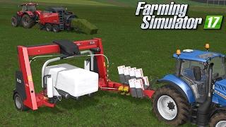Owijanie kostek - test maszyn z DLC KUHN | Farming Simulator 17