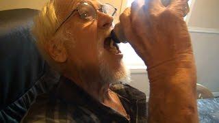 GRANDPA DRINKS MUSTARD!?