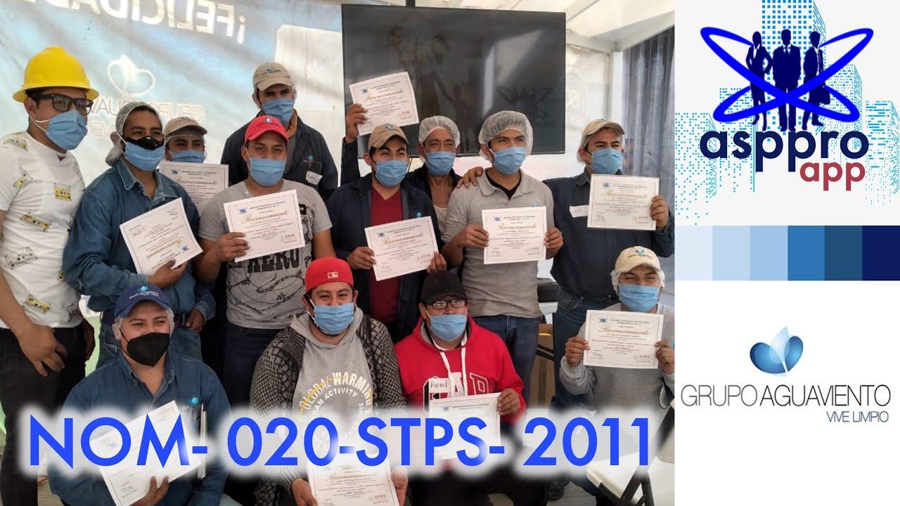 NOM-020-STPS-2011 -  Grupo Aguaviento