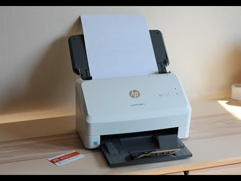 HP ScanJet Pro 3000 s3 Sheet feed OCR Scanner Review