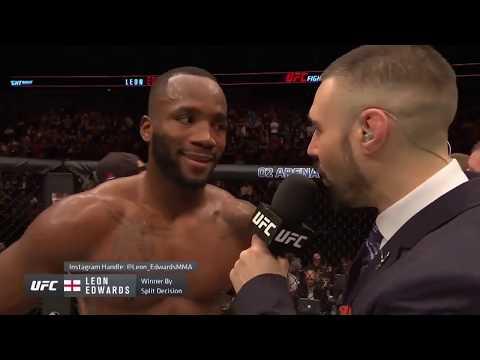 UFC Лондон: Леон Эдвардс - Слова после боя
