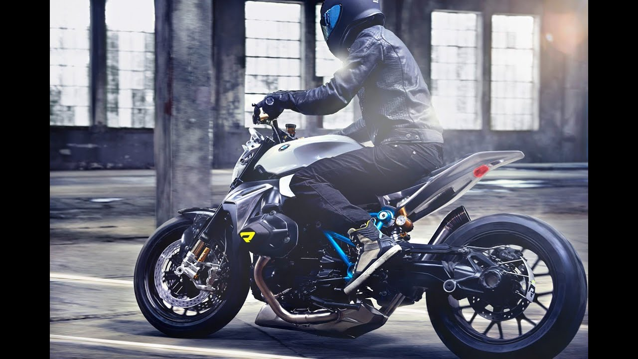 Bmw Concept Roadster Motorcycle Youtube