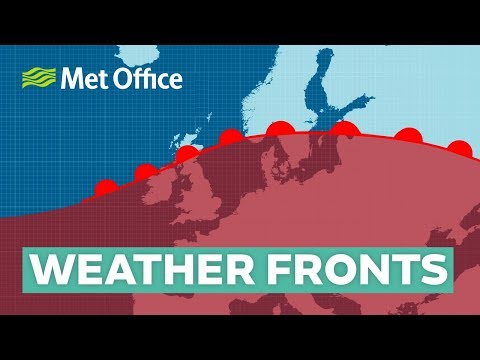 What are weather fronts and how do they affect our weather?