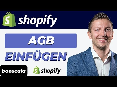 Shopify AGB Einfügen: Shopify AGB Erstellen – AGB Generator, AGB Vorlage, AGB Deutsch, AGB Checkbox