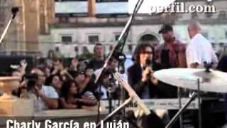 Charly García renovado y místico en Luján