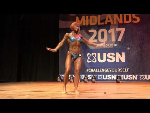 Louisa Whitehouse – Competitor No 51– Miss Athletic Figure - USN NABBA Midlands & Pro-Am Show 2017