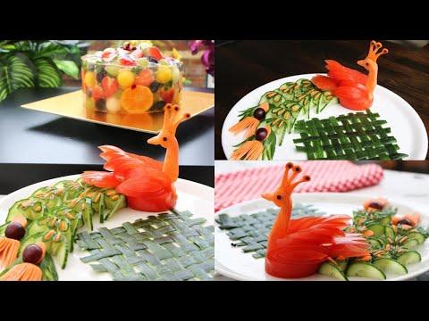 Creative Food Art - Super Salad Decoration Ideas - Easy Ideas Food Art