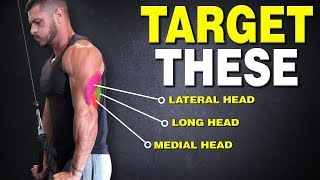 The ONLY 3 Triceps Exercises You Need for Mass