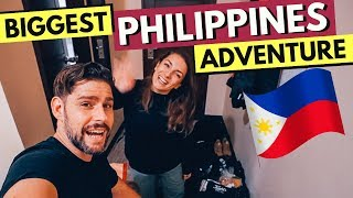 Our BIGGEST PHILIPPINES ADVENTURE begins - NELLY is BACK!
