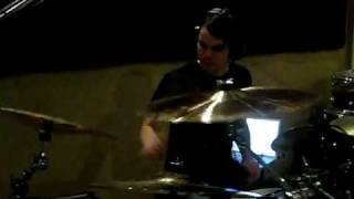 Lech Recording Drums - As Blood Runs Black