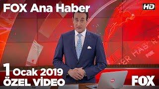 İzmir'de metro ve tramvay çalışanlarıda ''grev'' dedi! 1 Ocak 2019 FOX Ana Haber