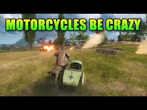Motorcycles Be Crazy | Battlefield 1 Epic Gameplay