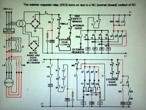 How a relay logic elevator works  YouTube