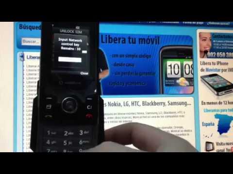 Liberar LG KS500, desbloquear LG KS500 de Vodafone Movical Net