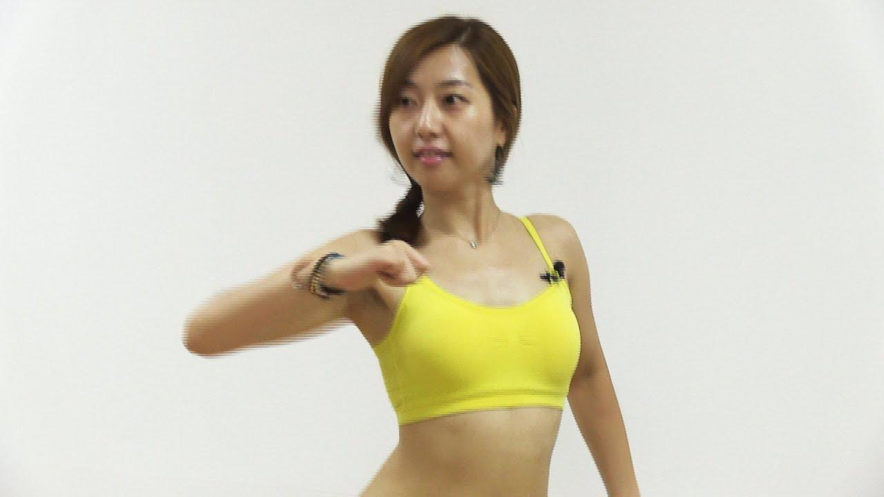 자신있는 비키니 몸매 [줌바댄스 6회] 레게톤 스텝(Zumba dance-Raggaeton step)