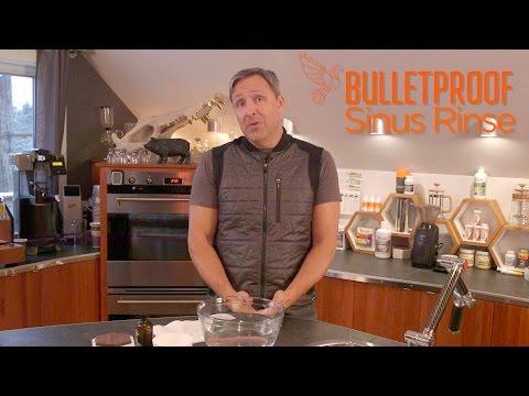 Chronic Sinus Problems? Try the Bulletproof Sinus Rinse  - YouTube