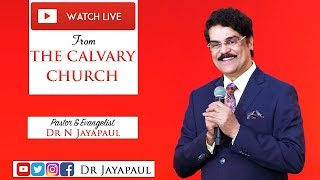 Telugu Service - Live from The Calvary Church Chennai | 17-03-2019 | Dr Jayapaul