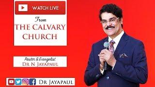 Telugu Service - Live from The Calvary Church Chennai   17-03-2019   Dr Jayapaul