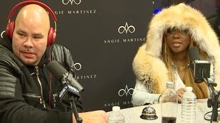 angie talks wfat joe remy ma to discuss their new album together making up 03092016