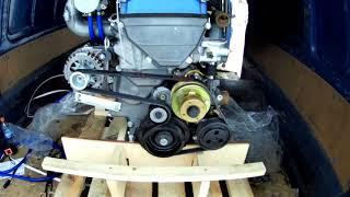 распаковка двигателя ЗМЗ 405 Евро-3 / 4, установка на Газель с механической педалью
