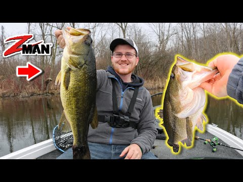 Fishing For GIANT Prespawn Michigan Largemouth Bass (Searching For Mega Bag 25+ Lbs)