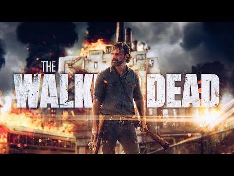 🔫 The Walking Dead | SPEED-ART (timelapse) Photoshop by Pavel Bond