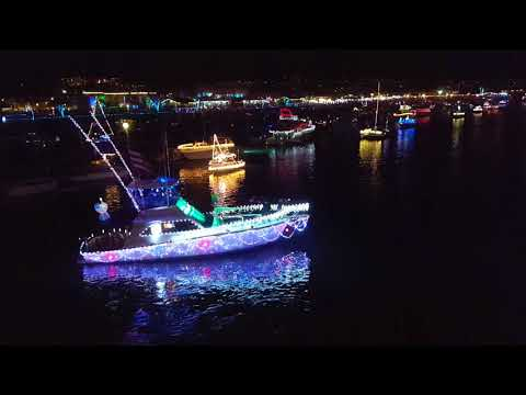 Dana Point 43rd Annual Boat Parade of Lights, 2017.