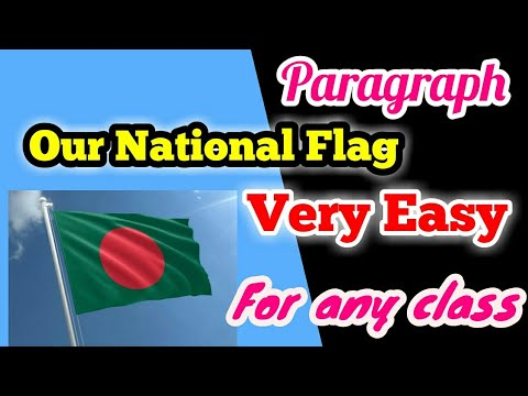 national flag paragraph for class 2