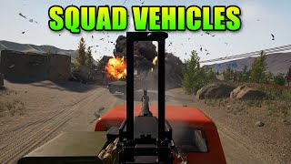 Squad Vehicles Exclusive First Look! Alpha V7 Gameplay