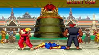 【TAS】Hyper Street Fighter II ~ (NORMAL) Ken