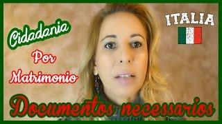 Cidadania Italiana por Matrimonio - Modulo Online