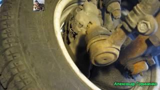 Диагностика наконечников рулевых тяг ВАЗ классики