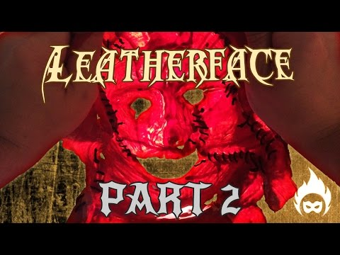 Leatherface Costume Part Latex Mask