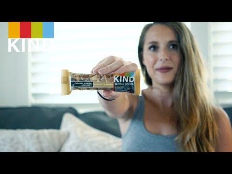 Seasonal KIND Bar s with Alexa PenaVega  KIND Snacks