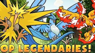 MAX LEVEL LEGENDARY Minecraft PIXELMON LEGENDARY RANDOM CHALLENGE - Pokemon Modded Battle Minigame
