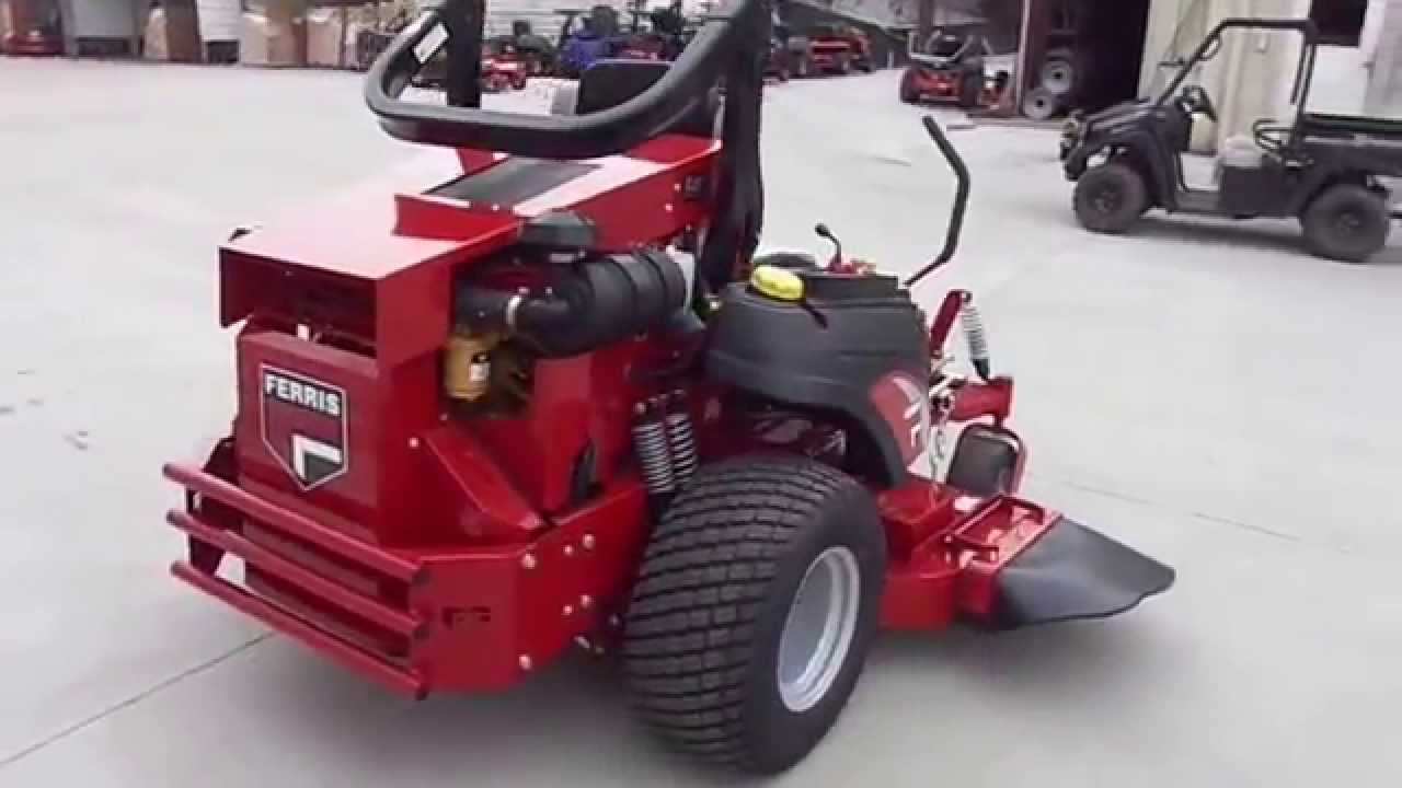 small resolution of ferris is5100z zero turn mower 72 5901011 with 33 5 hp cat diesel engine youtube