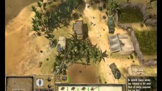 Afrika Korps vs. Desert Rats Gameplay