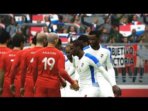 Tunisia vs Panama Full Match | FIFA World Cup 2018 Russia | PES Gameplay PC