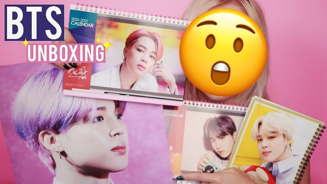 HUGE BTS UNBOXING 💣 Merchandise from MD GOODS SHOP